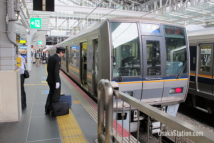 A Rapid train on the Kyoto Line