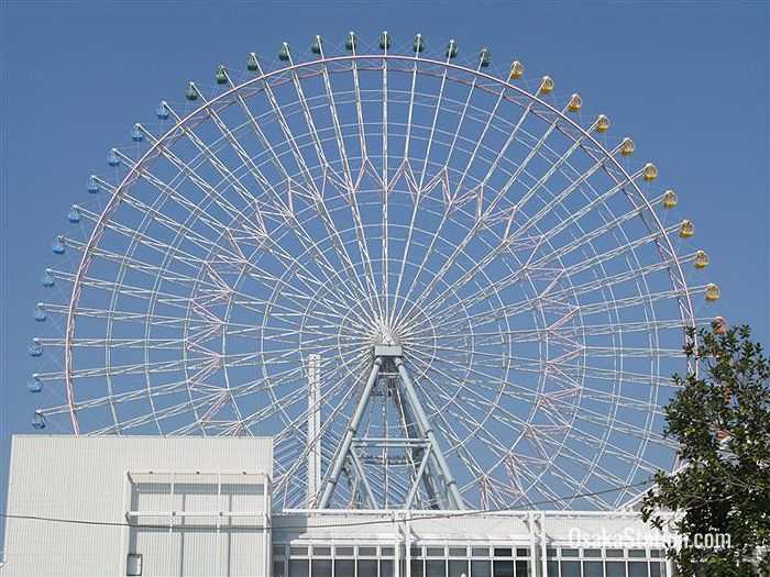 The Tempozan Ferris Wheel