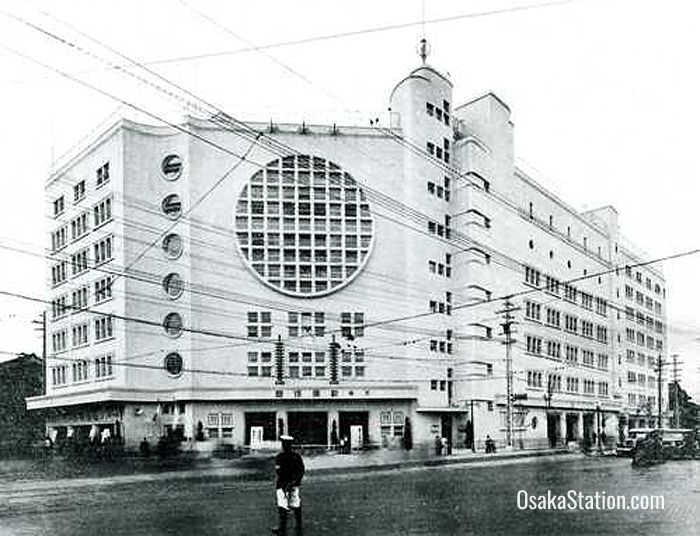 The original Osaka Kabukiza in Namba lasted from 1932 to 1958
