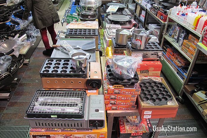 Grills and takoyaki pans