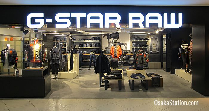 G-Star Raw on the 4th floor is a Dutch urban design brand for ladies and men