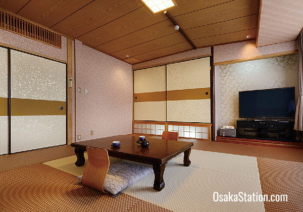 A Japanese style room