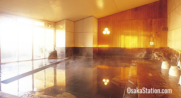 The hot spring spa