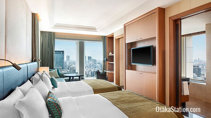 Grand Deluxe room at St. Regis Osaka hotel