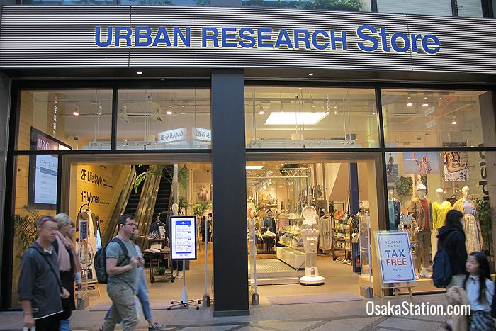 Urban Research - comfortable, casual, fashionable clothes for ladies and men at an accessible price