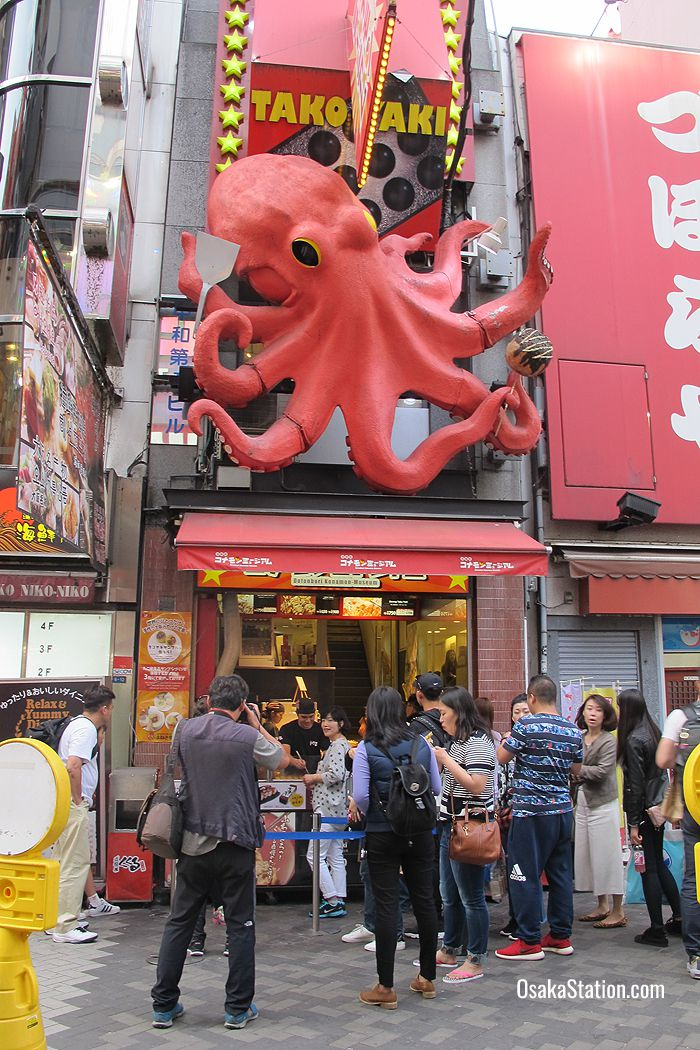 Five Famous Foods in Osaka & Where to Eat Them – Osaka Station