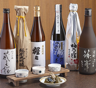 A tasty education in local sake culture!