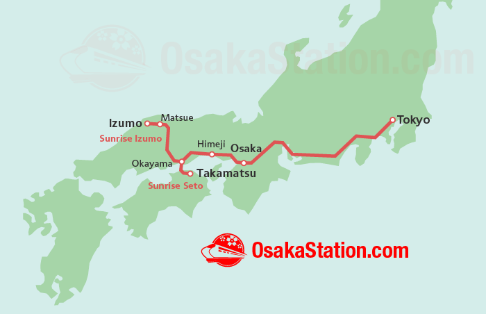 Sunrise Express Route Map
