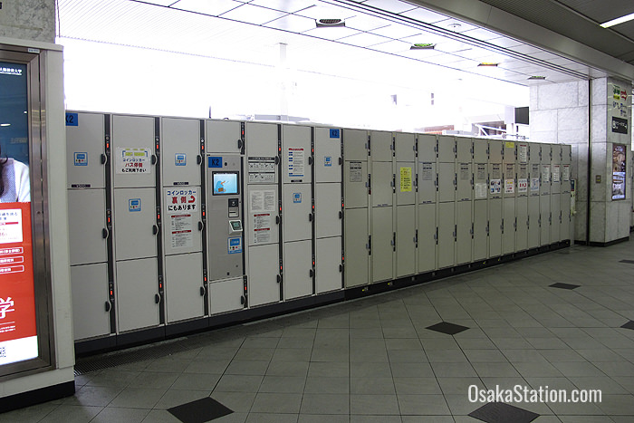 South Gate lockers