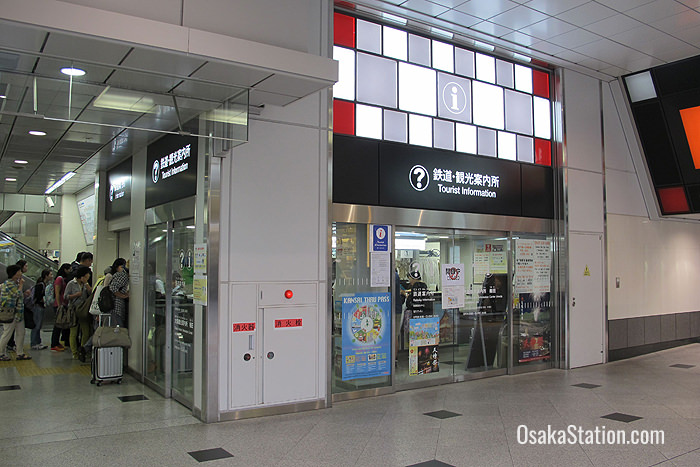 The Train & Tourist Information office is on the north-west corner of the 1st floor Central Concourse