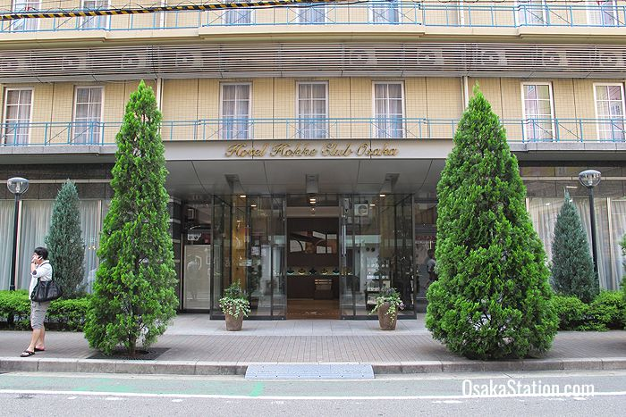 The Hotel Hokke Club Osaka entrance