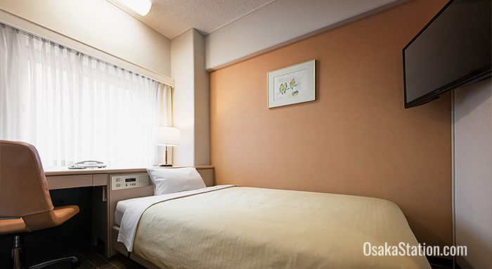 Single Room at Hotel New Hankyu Osaka