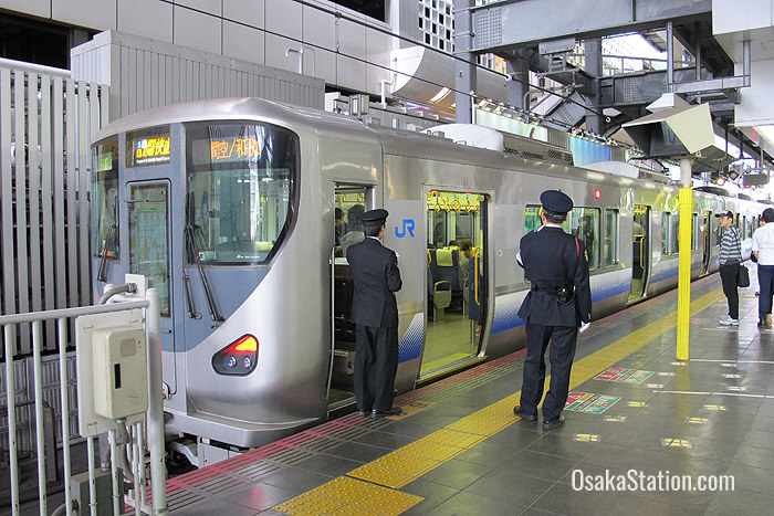 The Kansai Airport Rapid Service