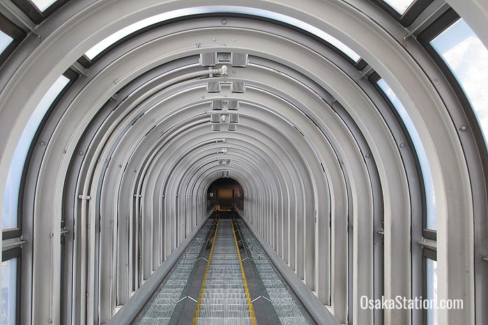 Riding the Umeda Sky Building's futuristic elevator is itself quite an experience