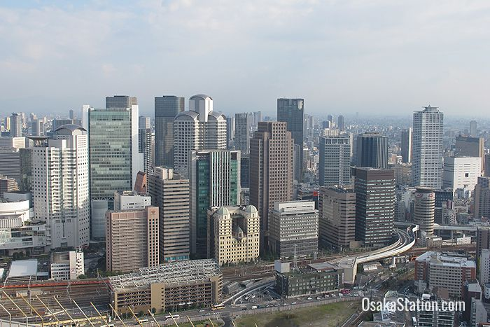 A view of Umeda