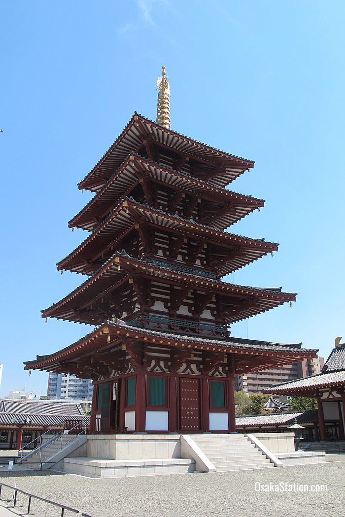 The five story pagoda