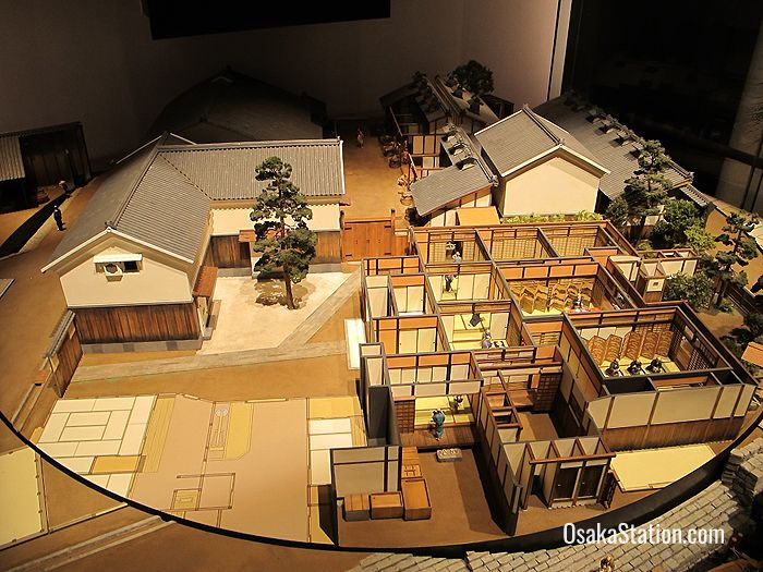 A revolving model of the Sumitomo copper refinery