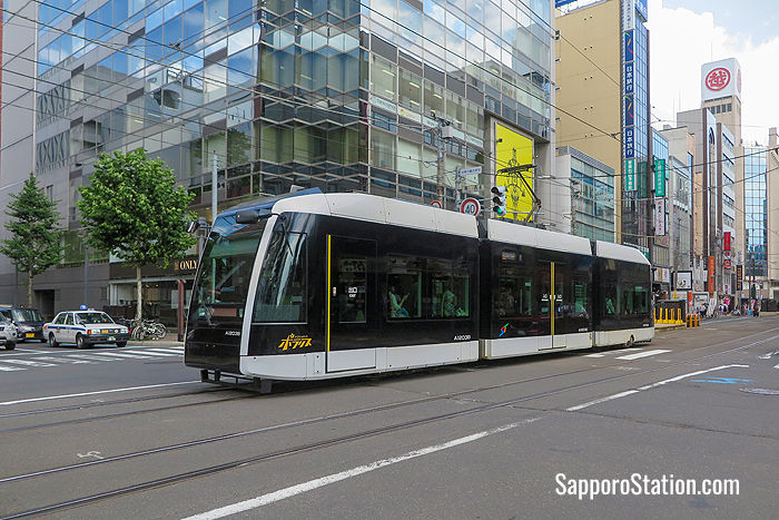 The Polaris is a modern low-floor tram introduced in 2013