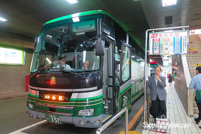 A Donan Bus service for Hakodate