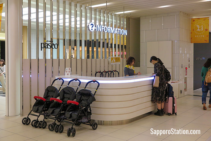 The information counter in Paseo East 1F