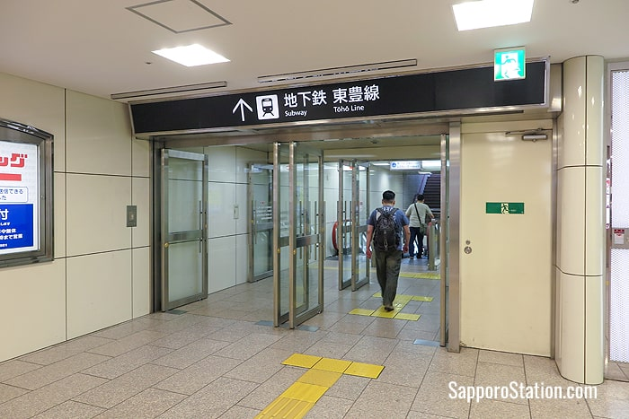 The Toho Line can be accessed by heading south on East Avenue
