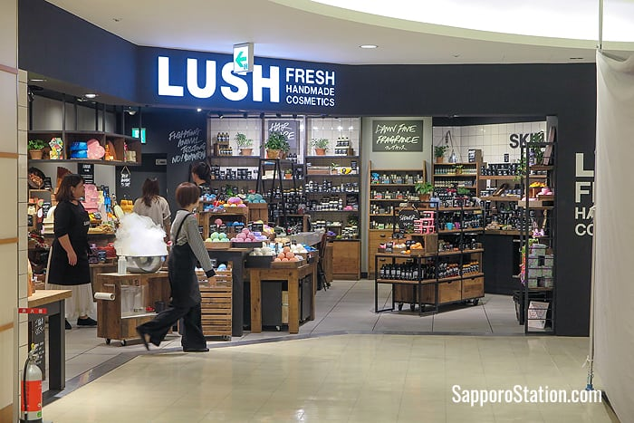 The Lush store on the B2 level