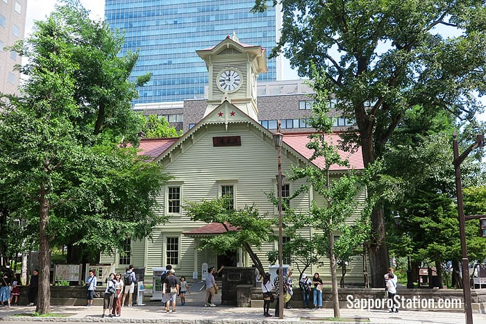 Sapporo Clock Tower's simple rural appearance adds to its charm
