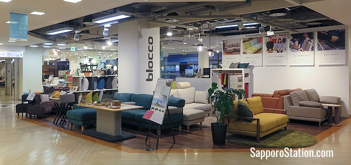 Blocco on the 3rd floor is a sofa specialty store