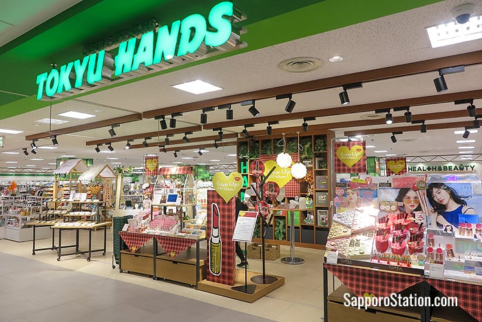 Tokyu Hands on the 8th floor