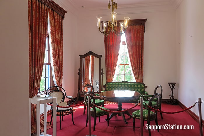 The Ume Room was part of the Emperor's private suite in 1881