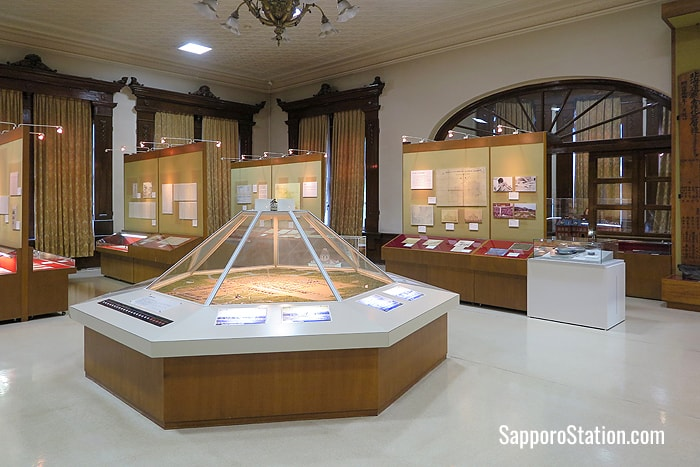 The Archives of Hokkaido exhibition space