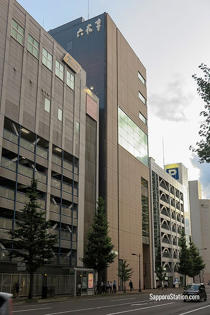 A street view of the Rokkatei Sapporo Main Store building