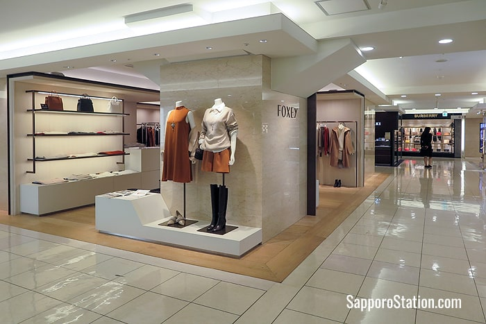 Foxey on the 2nd floor sells clothes with elegant classic designs for young ladies