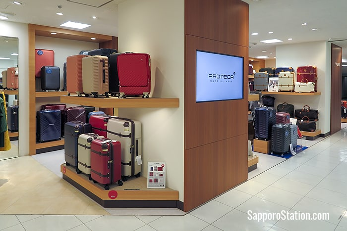 Travel baggage can also be found on the 3rd floor