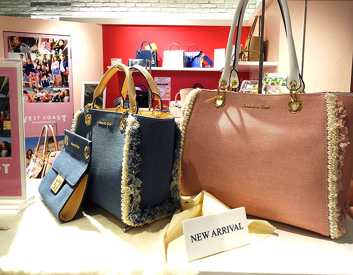 Handbags by Samantha Vega at Shibuya Marui
