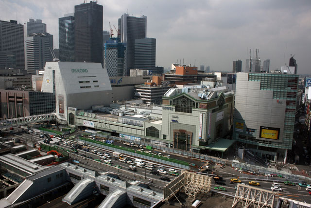 Present Day Shinjuku Station