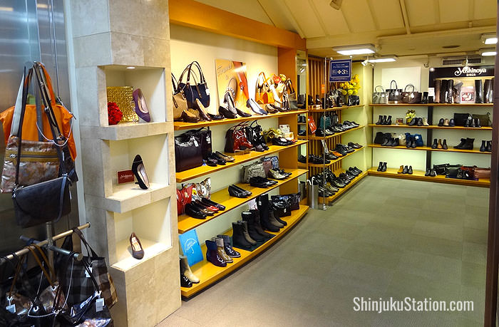 Keio Department Store women's footwear