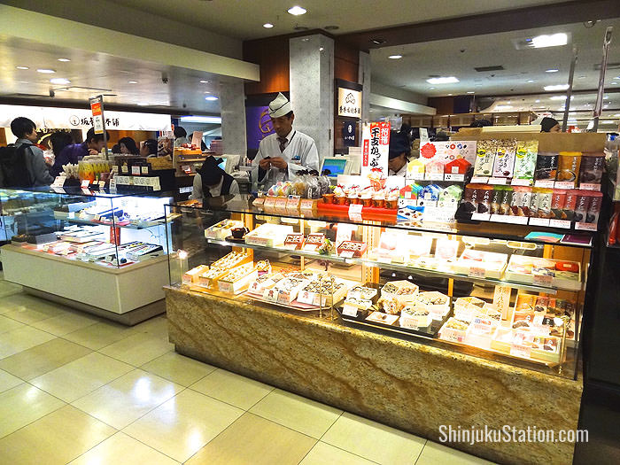 Keio has a busy food hall in the basement