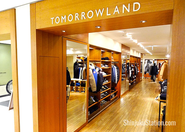 Tomorrowland is known for casual elegance clothing, footwear and accessories