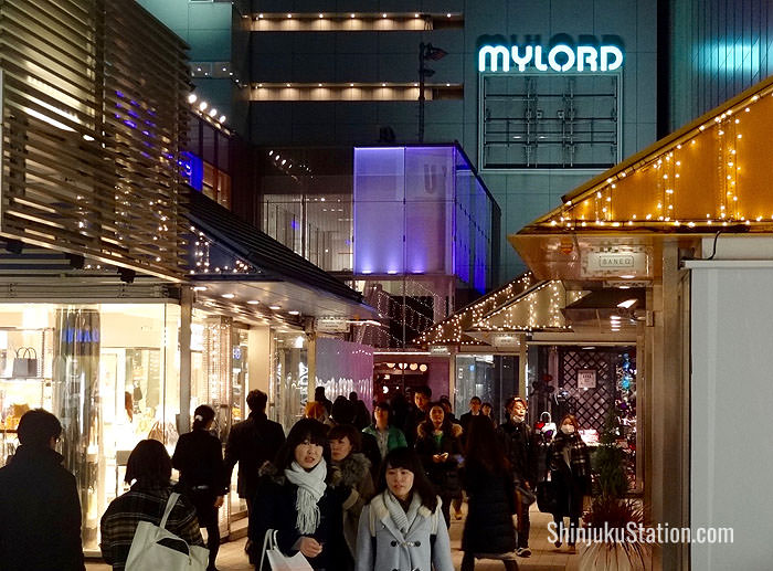 Shinjuku Mylord Shopping Mall