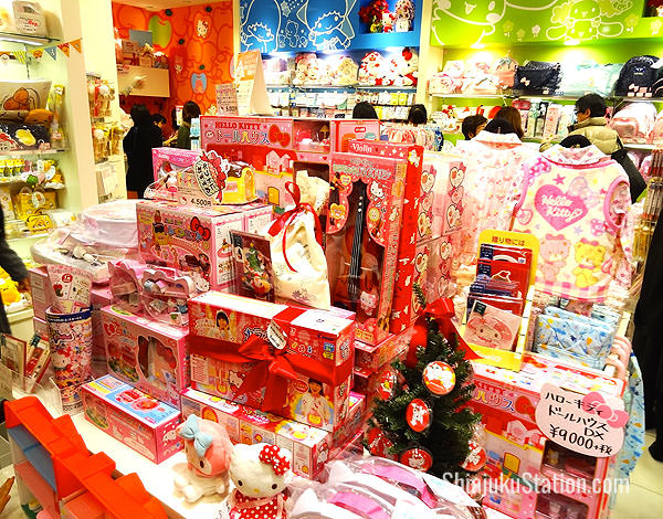 Hello Kitty goods at Takashimaya Shinjuku