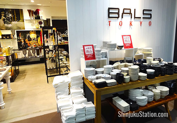 Bals Tokyo has high-end home furnishings and accessories