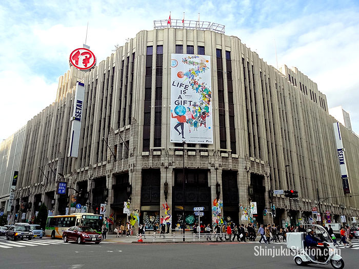 Isetan Shinjuku is housed in an opulent 1933 building near Shinjuku Station