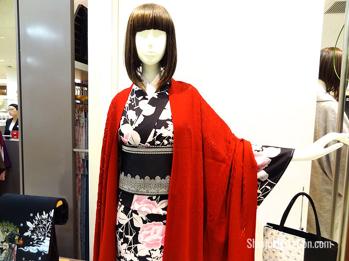 Isetan began as a kimono shop and still has an extensive selection of kimono goods