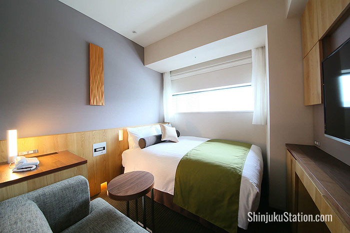 A standard double room