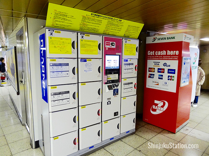 Shinjuku Station Lockers – Luggage Storage and Delivery