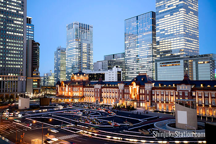 Tokyo Station has pride of place at the doorstep of Japan's Imperial Palace