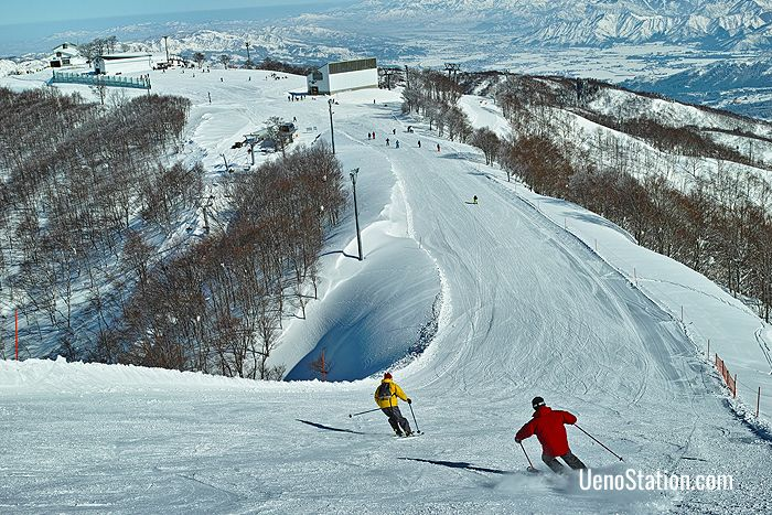 The ski resorts at Yuzawa are some of the most popular in Japan