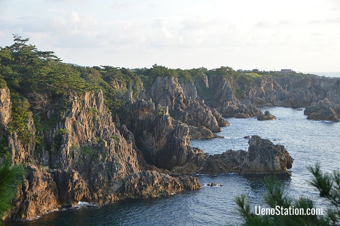 Scenic Sado Island can be accessed by ferry via Niigata Port