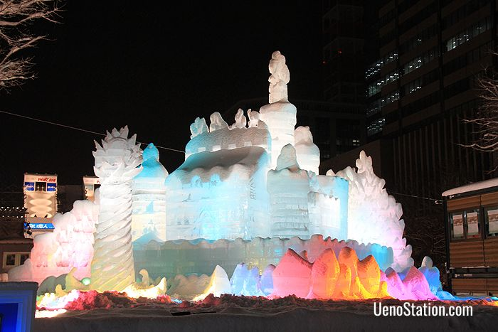 The Sapporo Snow Festival is one of Hokkaido's most popular events